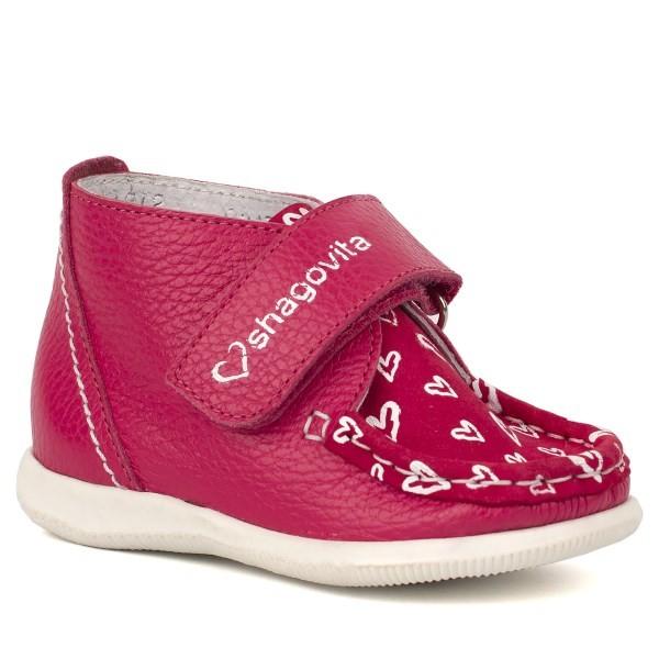 Ботинки кроя «Мокасин» для девочки 1212