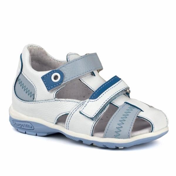 Туфли открытые для мальчика 14145