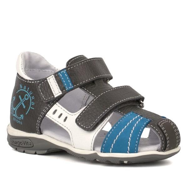 Туфли открытые для мальчика 14164