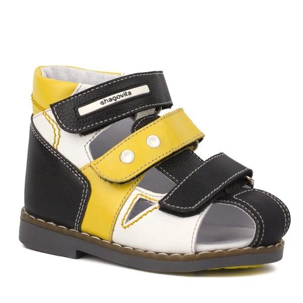 Туфли открытые для мальчика 14166