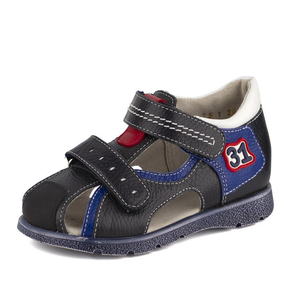 Туфли открытые для мальчика 14196