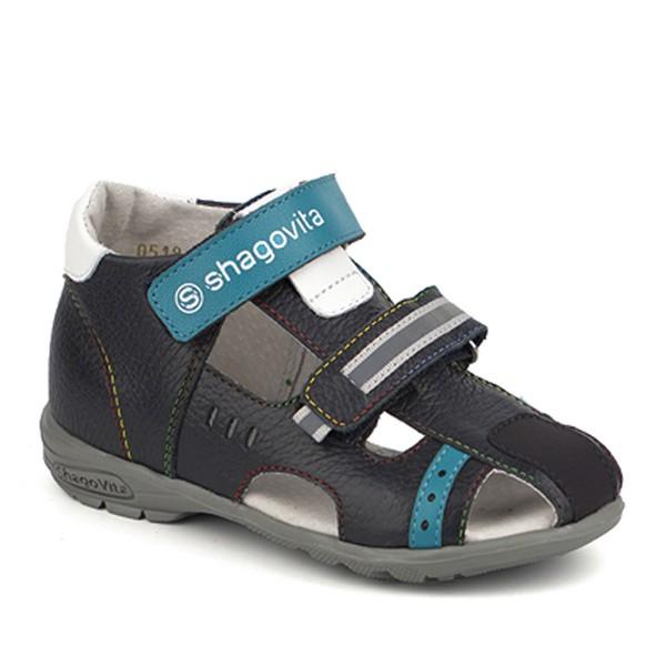 Туфли открытые для мальчика 14197