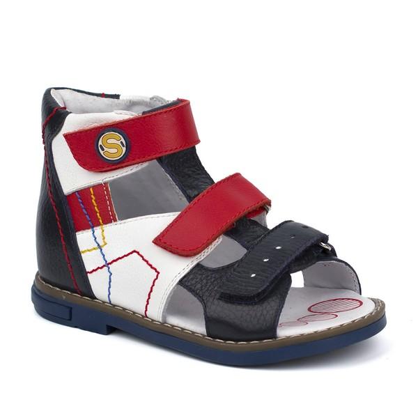 Туфли открытые для мальчика 24159