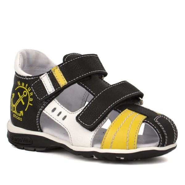 Туфли открытые для мальчика 24164