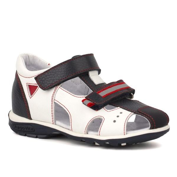 Туфли открытые для мальчика 24165