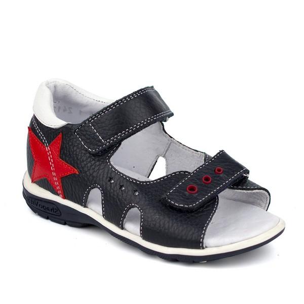 Туфли открытые для мальчика 24174