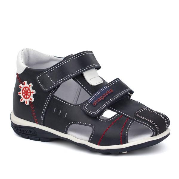Туфли открытые для мальчика 24179