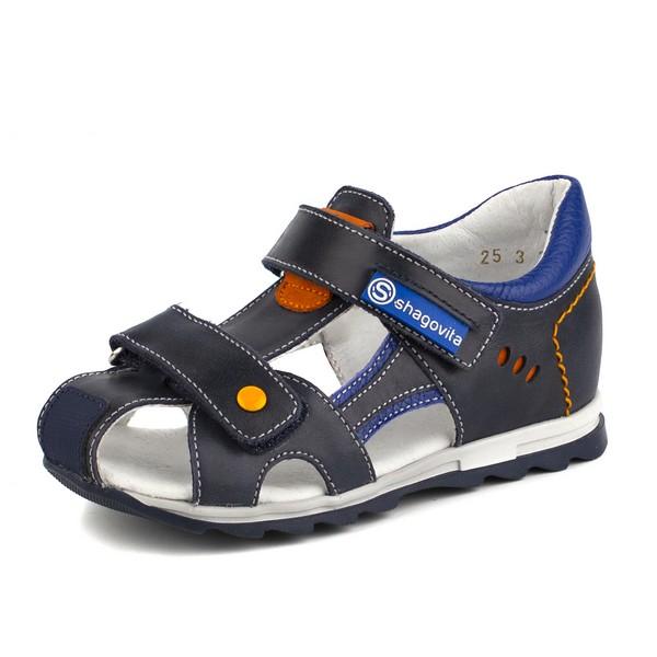 Туфли открытые для мальчика 24183