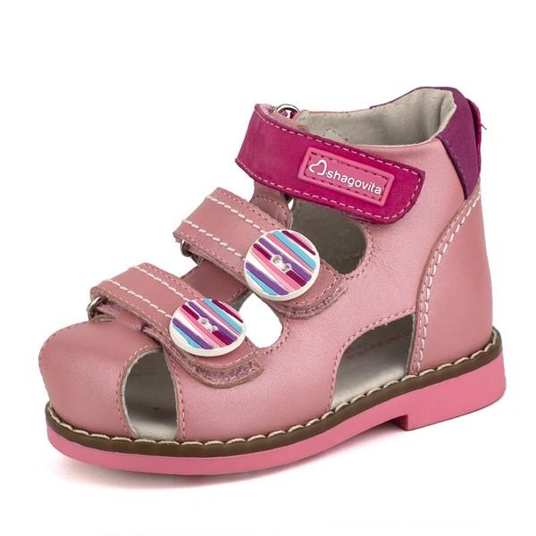 Туфли открытые для девочки 24195