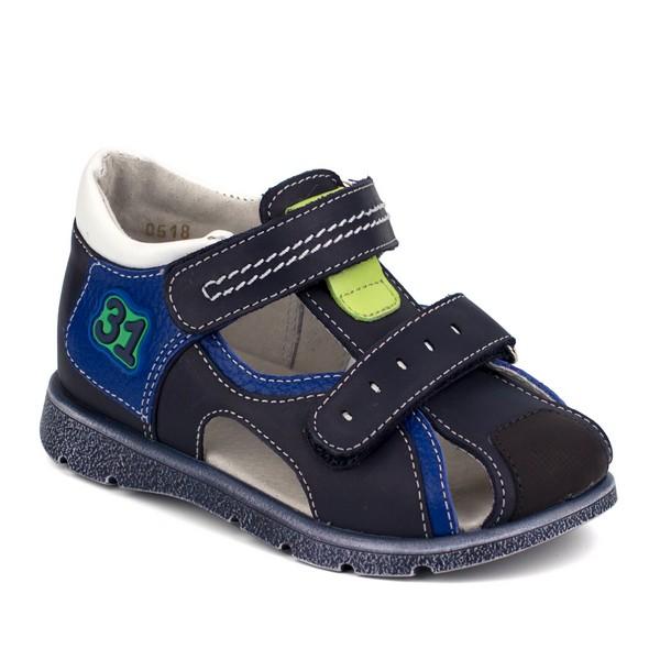Туфли открытые для мальчика 24196