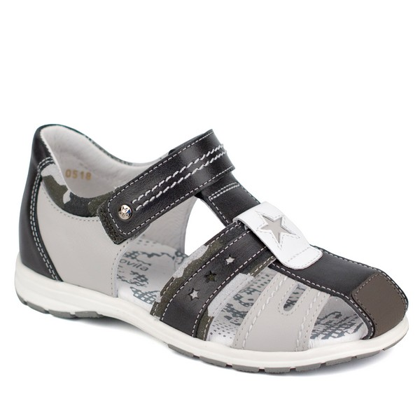 Туфли открытые для мальчика 34102