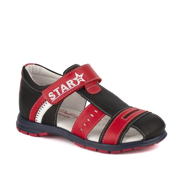 Туфли открытые для мальчика 3483