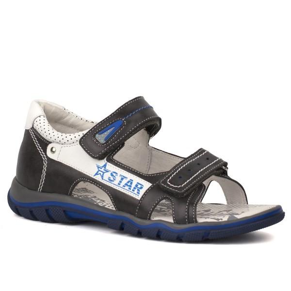 Туфли открытые для мальчика 5464