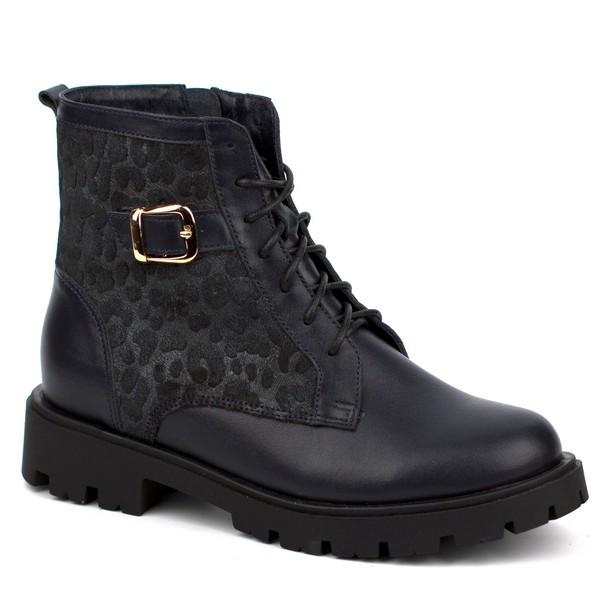 Ботинки для девочки 65152-1 Ш